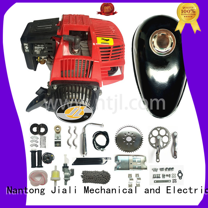 Jiali High-quality 4 stroke bike engine company for electric bicycle