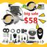 big sale 80cc 2 stroke engine silver wholesale for bike