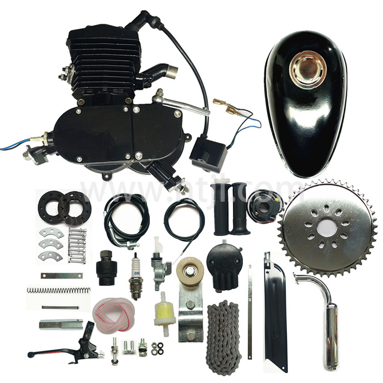 48cc 2 stroke gas engine kit - black