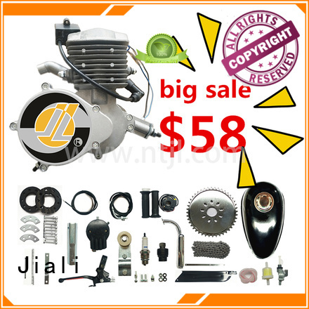 Jiali Wholesale 80cc silver bicycle engine kits supply for electric bicycle