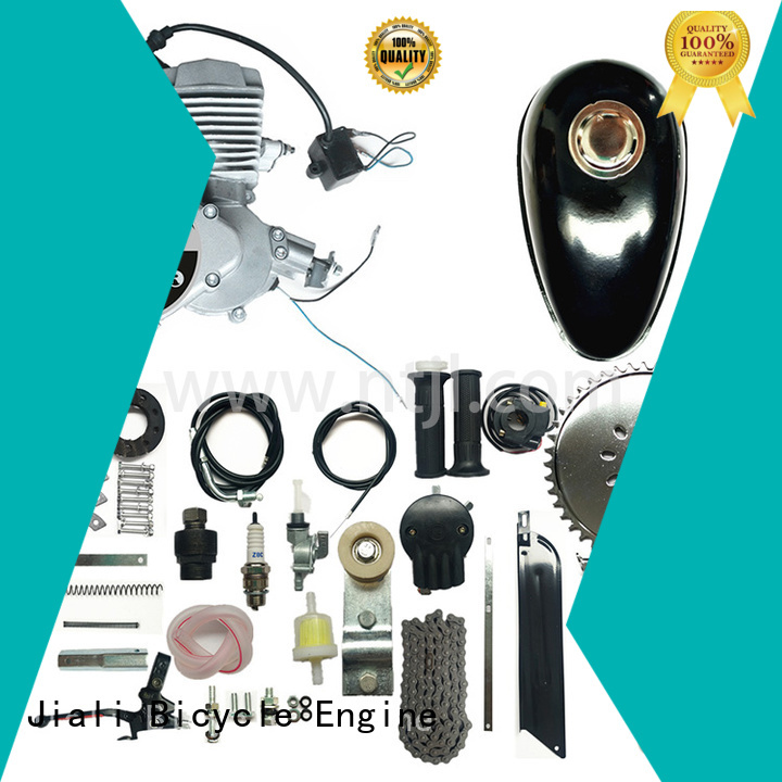 Jiali custom 48cc silver bicycle engine kits large capacity for electric bicycle