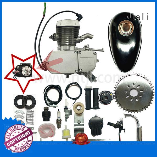 Super 80cc 2 stroke gas engine kit with internal CDI - silver