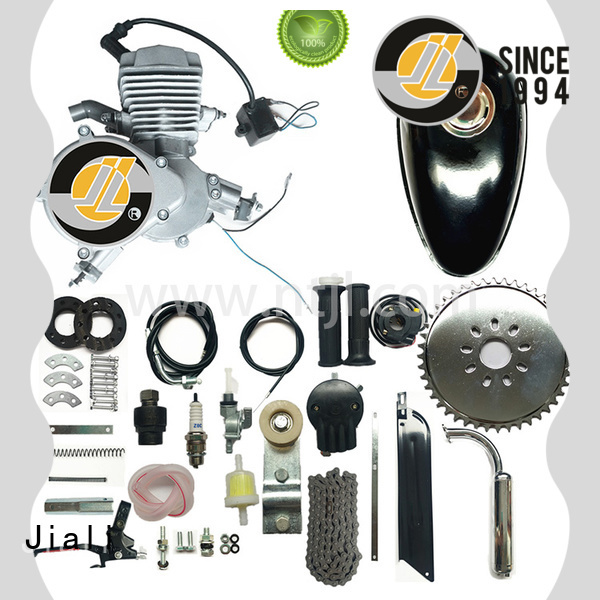 48cc 2 stroke gas engine kit - silver