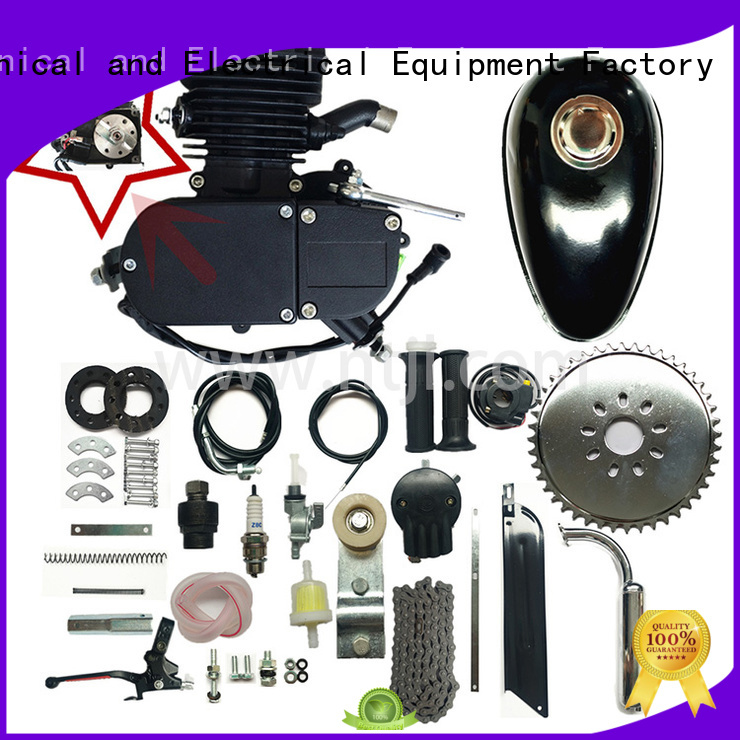 Jiali stroke super 80cc black bicycle engine kits factory for city car