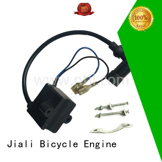 Jiali New 2 stroke gas engine spare parts supply for motor car