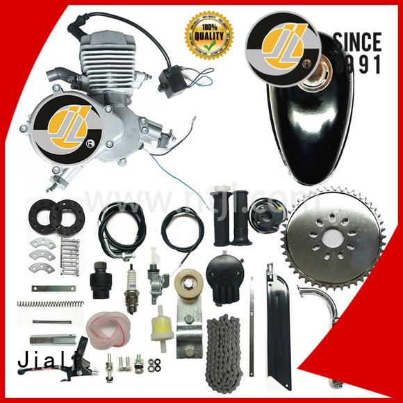 48cc 2 stroke gas engine kit - silver