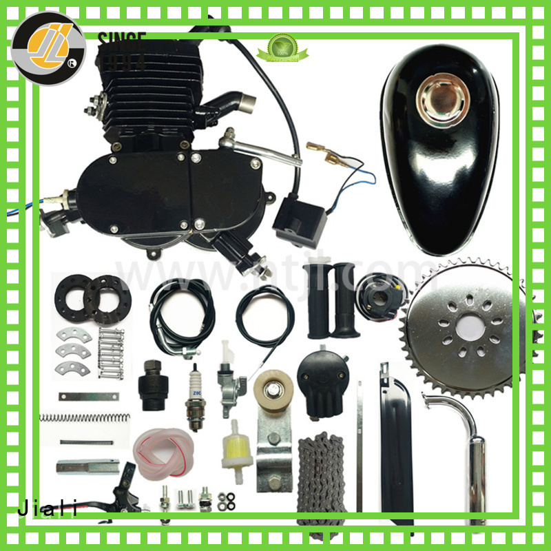Jiali 48cc 48cc black bicycle engine kits supply for electric bicycle