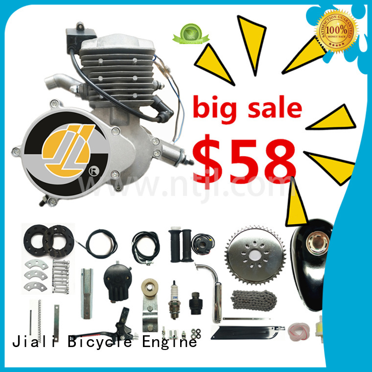 Jiali 80cc 80cc 2 stroke bicycle engine kit company for bicycle