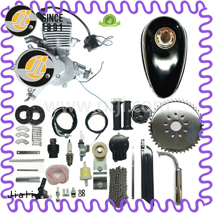Jiali kit 48cc silver bicycle engine kits suppliers for electric bicycle