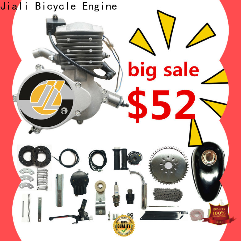 Jiali kit 80cc silver bicycle engine kits manufacturers for electric bicycle