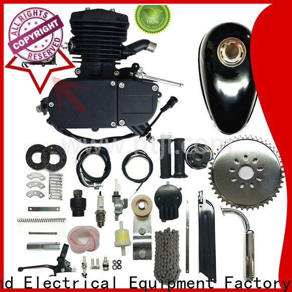 Jiali stroke super 80cc black bicycle engine kits supply for motor car