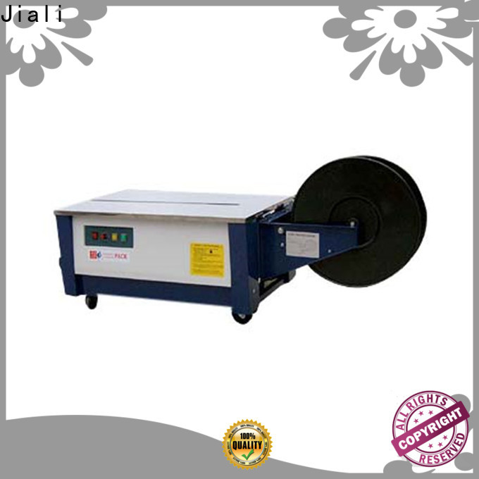 Jiali enclosed strapping machines manufacturers for newspaper packing