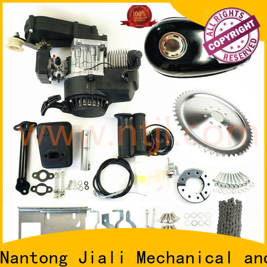 Jiali Top 49cc 2 stroke pull start bicycle engine kits supply for electric bicycle