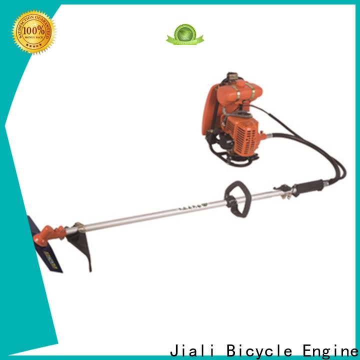 Jiali New brush cutter machine factory for garden maintenance