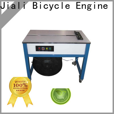Jiali machine semi automatic strapping machine for business for newspaper packing