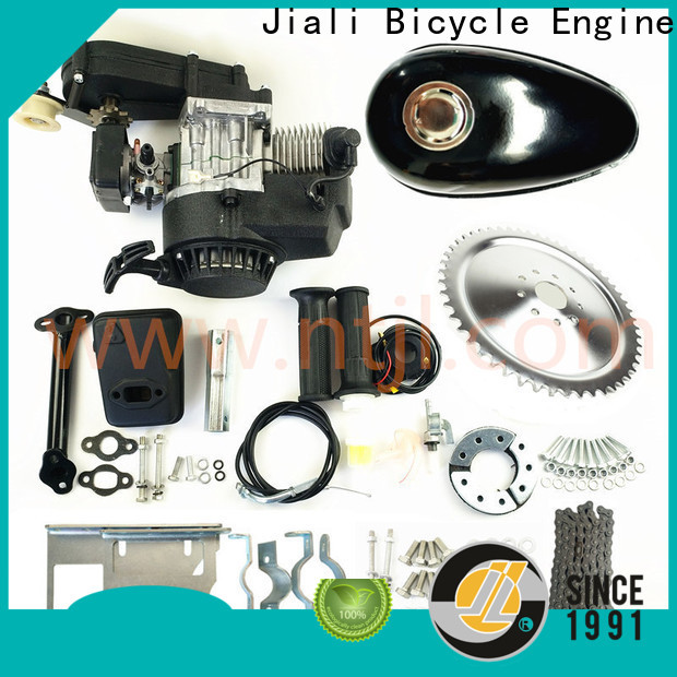 Jiali 49cc 2 stroke bicycle engine kits suppliers for electric bicycle