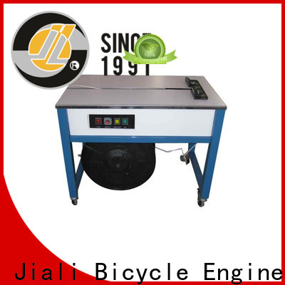 Jiali table fully automatic strapping machine company for cardboard packing