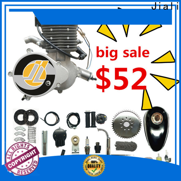 Jiali Custom 80cc silver bicycle engine kits factory for bicycle