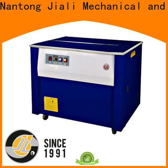Jiali low semi automatic strapping machine for business for print packing