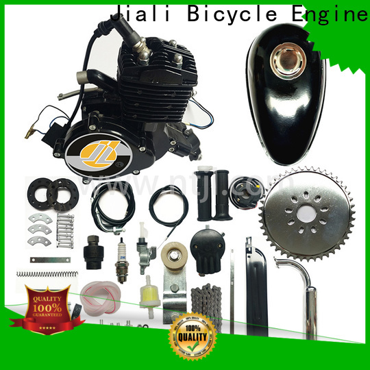 Jiali engine 80cc black bicycle engine kits suppliers for bicycle