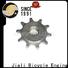 Jiali perfect sprocket wheel company for motor car