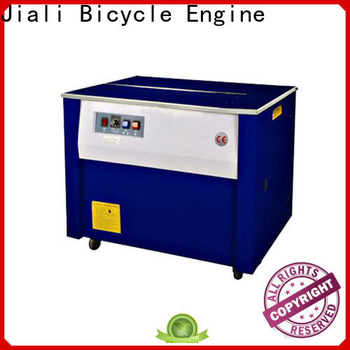 Jiali low semi automatic strapping machine factory for print packing