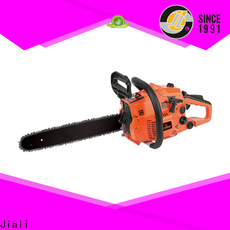 Jiali Latest chain saw machine company for garden construction