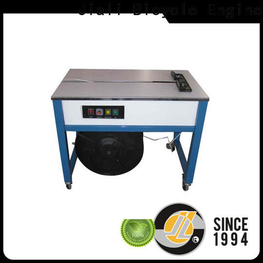Jiali Best semi automatic strapping machine factory for newspaper packing