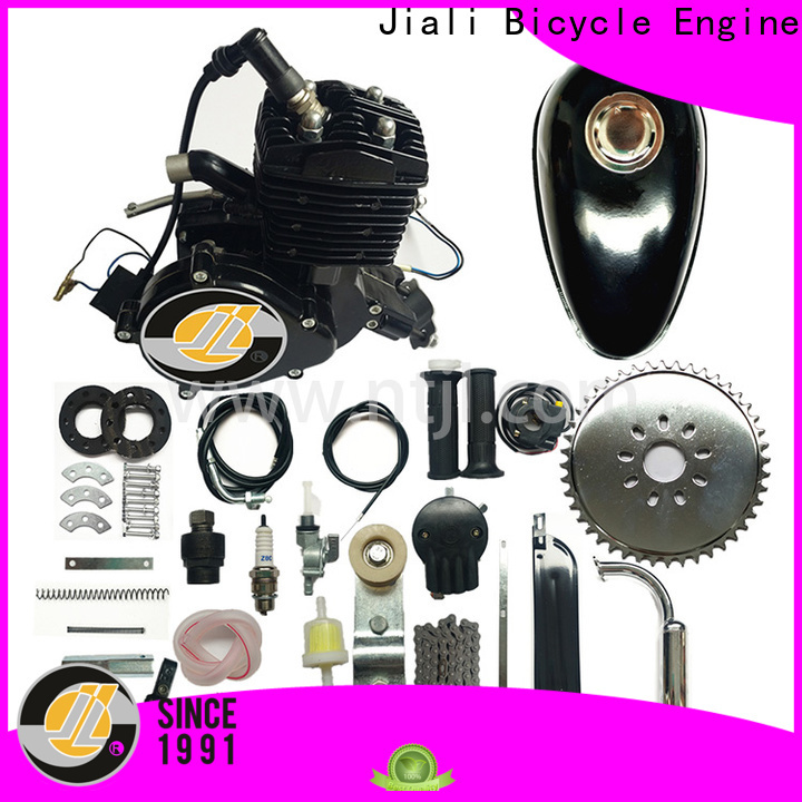 Jiali Top 80cc black bicycle engine kits company for electric bicycle