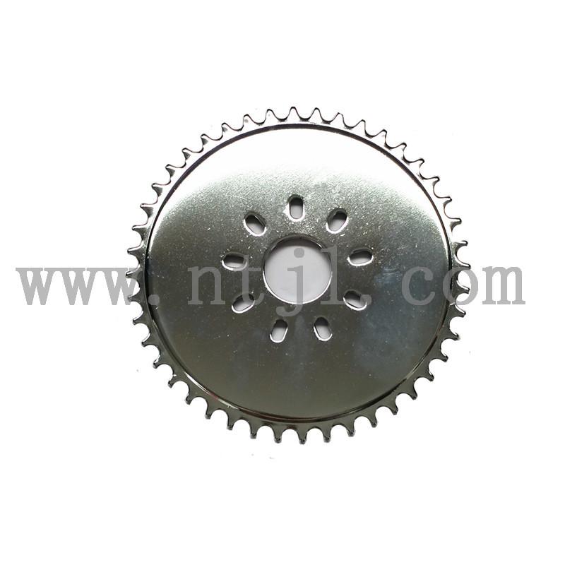 44T rear sprocket wheel bike motor spare parts