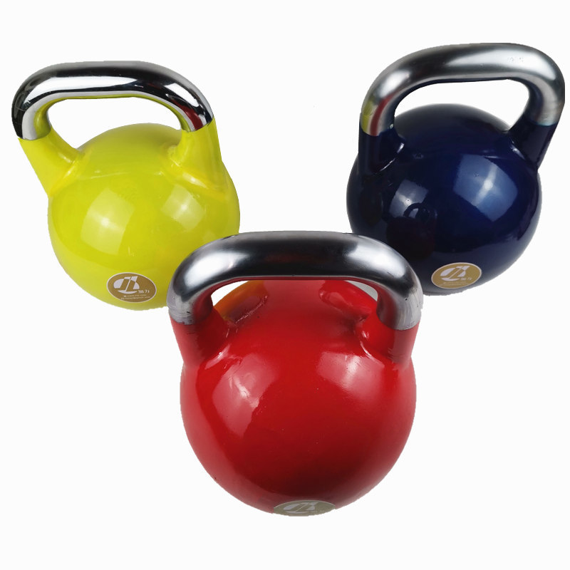 Competition Kettlebell Coated Cast Steel Weight Lifting Training