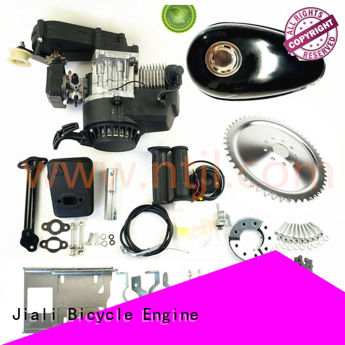 Jiali 49cc 49cc 2 stroke pull start bicycle engine kits suppliers for electric bicycle