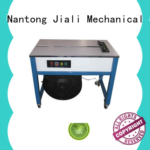 Jiali strapping automatic strapping machine company for newspaper packing