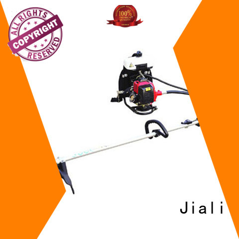 Jiali chain brush cutter machine company for garden greening