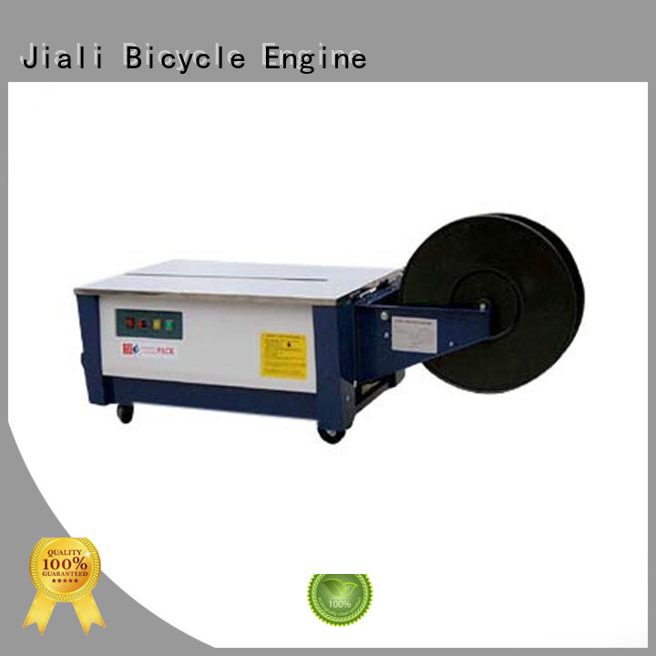 Jiali Wholesale semi automatic strapping machine supply for newspaper packing