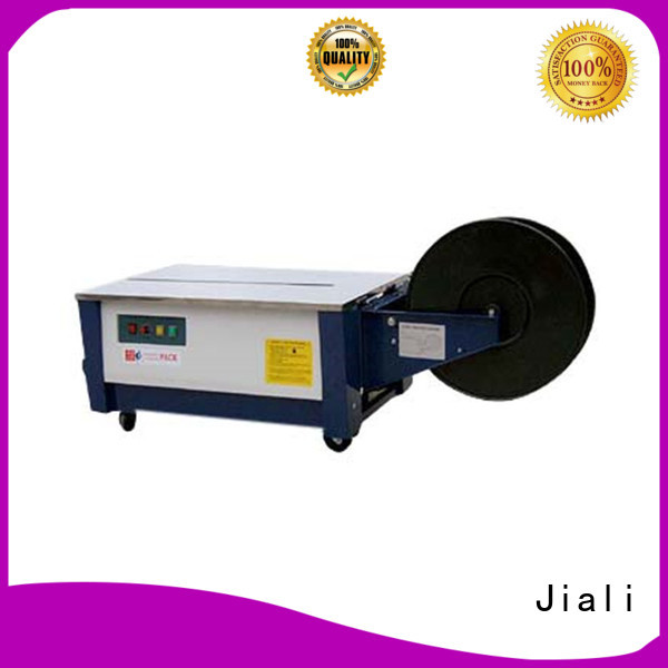 Jiali table semi automatic strapping machine supply for print packing