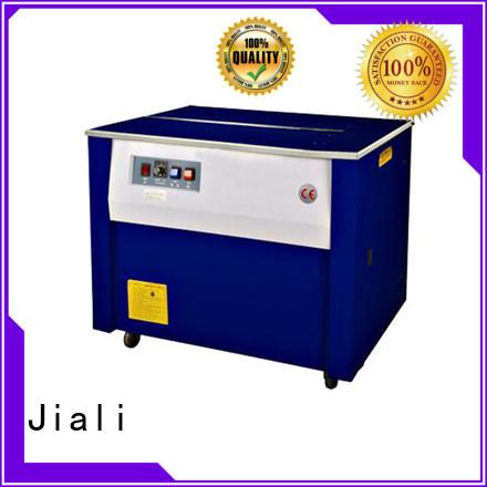 Jiali machine semi automatic strapping machine series for newspaper packing