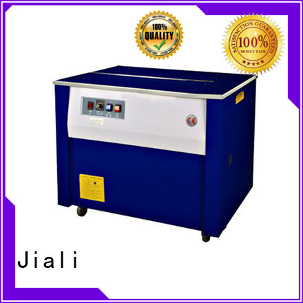 Jiali machine semi automatic strapping machine series for newspaper packing