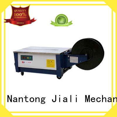 Jiali machine fully automatic strapping machine factory for newspaper packing
