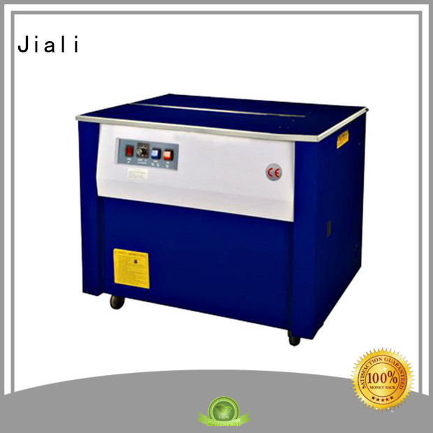 Jiali table semi automatic strapping machine supply for carton packing