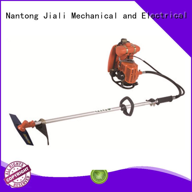 Jiali match brush cutter machine factory for garden maintenance