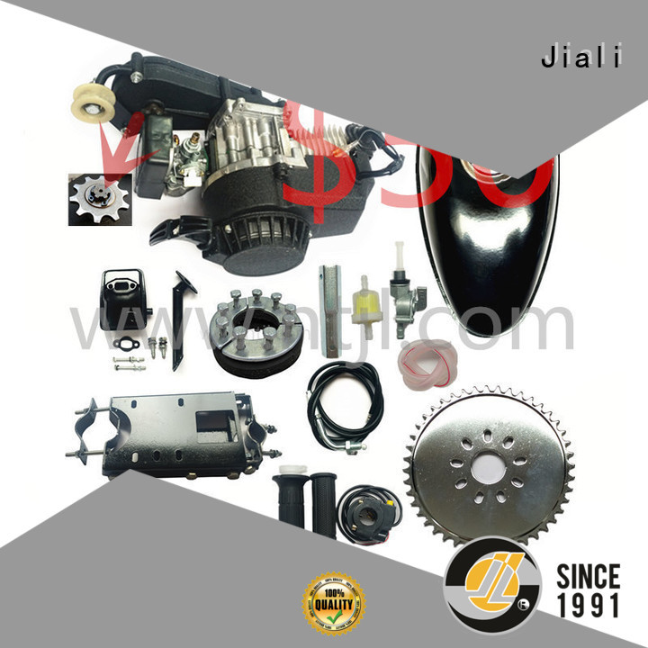 Jiali engine 49cc 2 stroke pull start bicycle engine kits supply for electric bicycle