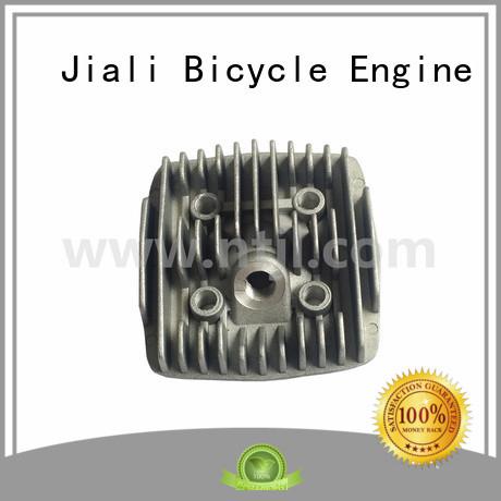 Jiali custom gasoline engine spare parts manufacturer for bike