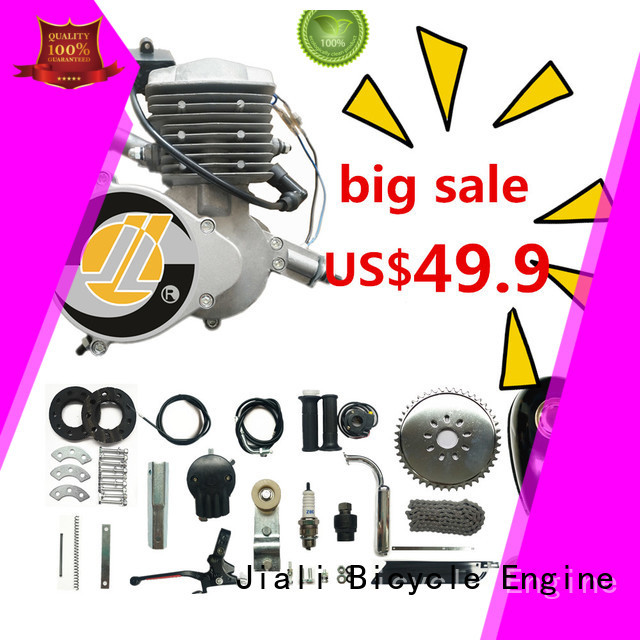 Jiali Custom 80cc 2 stroke bicycle engine kit for business for electric bicycle