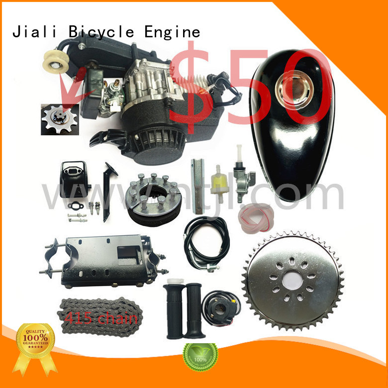 Jiali engine 49cc 2 stroke pull start bicycle engine kits wholesale for bicycle
