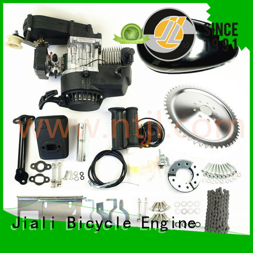 Jiali New 2 stroke bicycle engine kits suppliers for bicycle