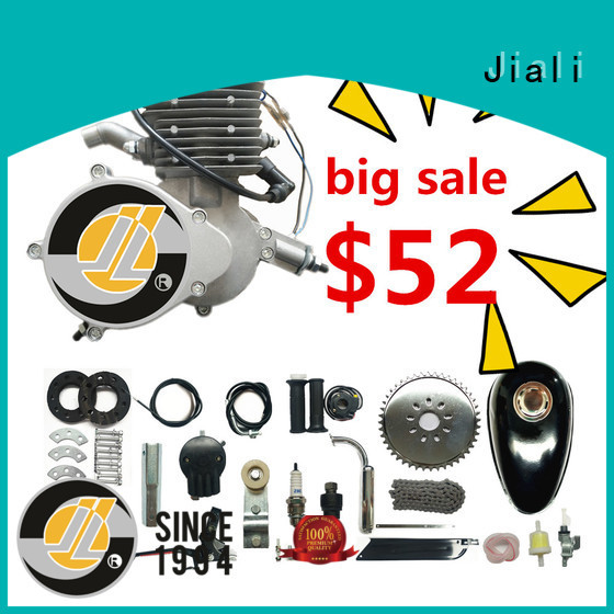 Jiali stroke 80cc 2 stroke bicycle engine kit company for electric bicycle