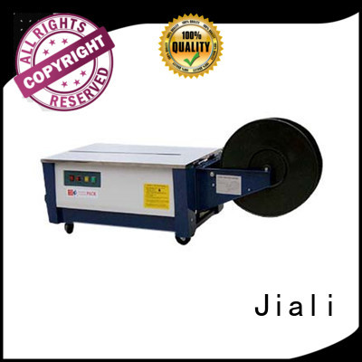 Jiali strapping semi automatic strapping machine manufacturers for print packing