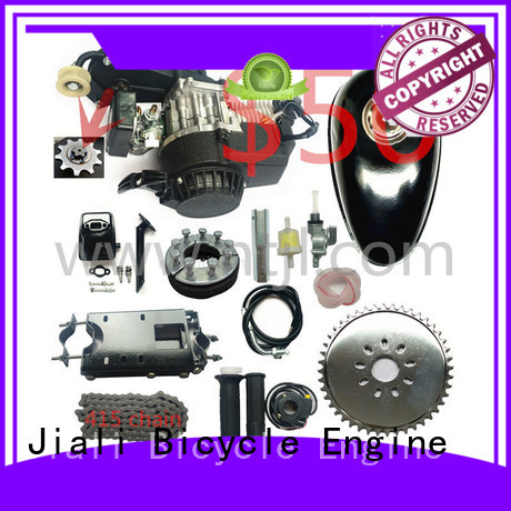 Jiali engine 49cc 2 stroke pull start bicycle engine kits company for electric bicycle