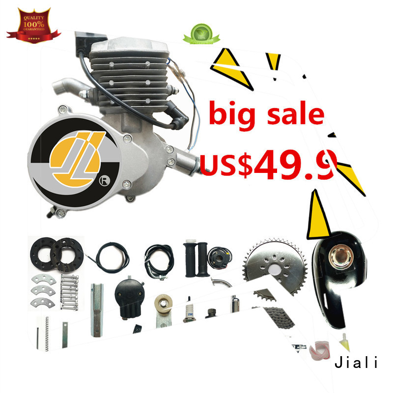 Jiali New 80cc 2 stroke bicycle engine kit factory for bike